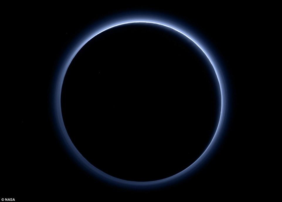Pluto Blue Sky